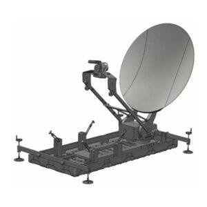 1.2m FlyAway / DriveAway Ku-Band Mobile VSAT Antenna